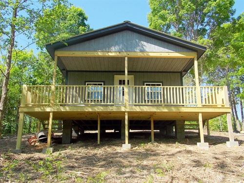 8.78 Acres TN River, Unfinished : Parsons : Decatur County : Tennessee