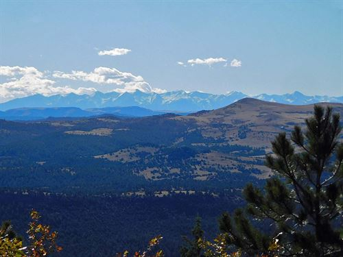 Borders 1000S Of Acres Of Govt Land : Cripple Creek : Teller County : Colorado