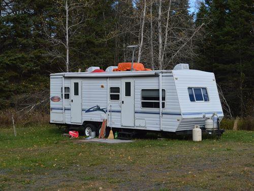 Land Lot Camper Prentiss, Maine : Prentiss : Penobscot County : Maine