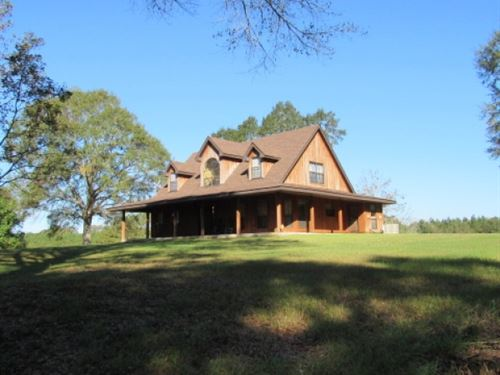 Secluded Home On 42.5 Acres : Summit : Amite County : Mississippi