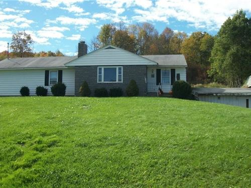 Beautiful 3 Bed 1 Bath Ranch Home : Columbus : Chenango County : New York