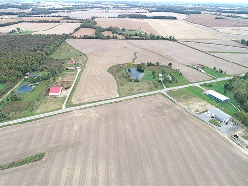 Logan County Grain Farm : East Liberty : Logan County : Ohio