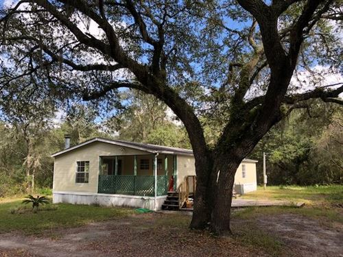 3/2 Dwmh On 5.81 Acres 776695 : Old Town : Dixie County : Florida