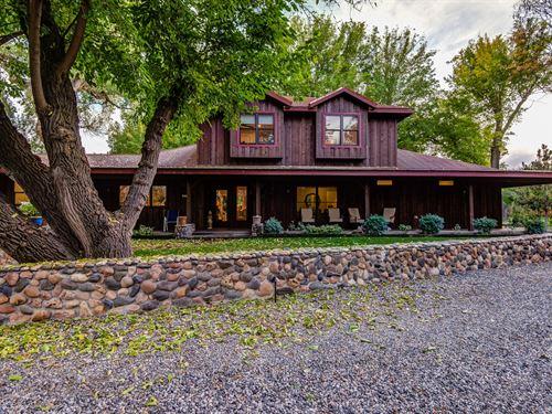 300+ Ft Creek Frontage, 10 Acres, 4 : Cornville : Yavapai County : Arizona