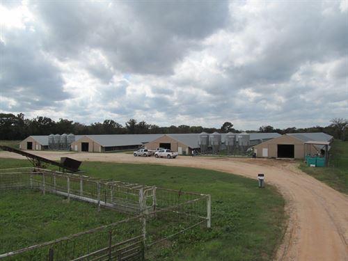 Poultry Farm Pickton Texas East : Pickton : Hopkins County : Texas