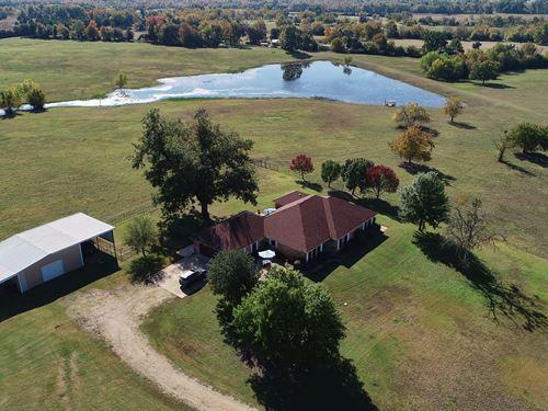 Beautiful Estate In Lamar County Tx : Roxton : Lamar County : Texas
