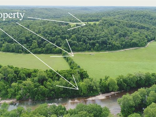 300 Ft Of Frontage On Niangua River : Lebanon : Dallas County : Missouri
