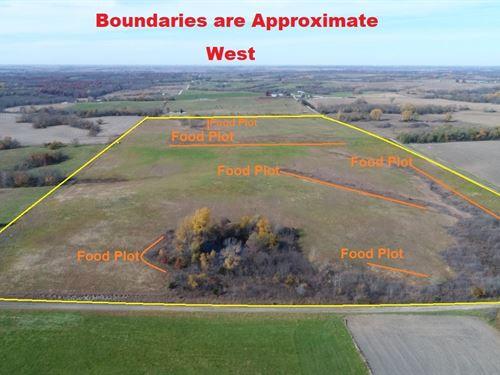 80 Acres, Nodaway County Mo, New : Guilford : Nodaway County : Missouri