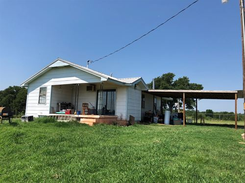 No Reserve Auction, Home 11 Acres : Harrah : Lincoln County : Oklahoma