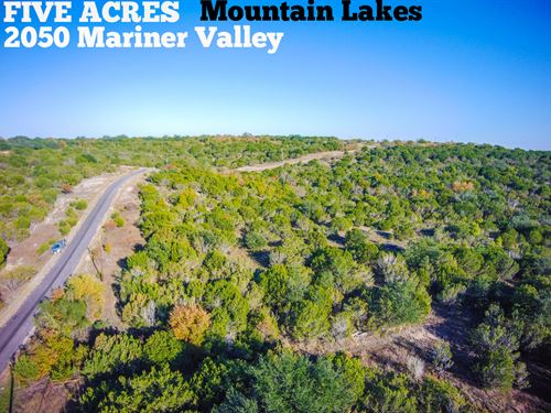 5 Acres In Erath County : Bluff Dale : Erath County : Texas