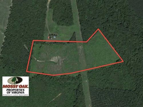 Under Contract, 28 Acres of Resid : Rehoboth : Lunenburg County : Virginia