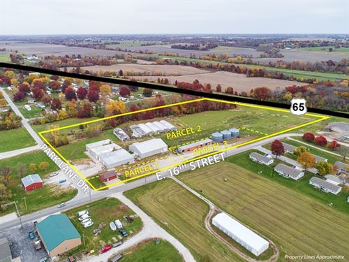 Commercial-Industrial Auction 8 Ac : Trenton : Grundy County : Missouri