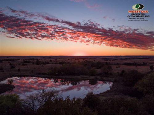 120 Acres in Grenola, KS : Grenola : Chautauqua County : Kansas