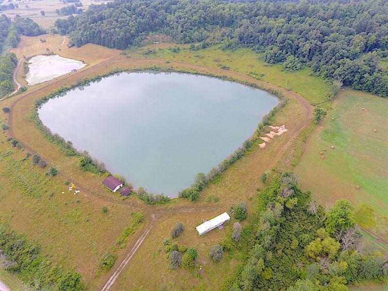 Happydale Rd, 60 Acres : Cambridge : Guernsey County : Ohio