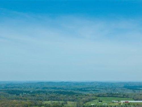 Pristine Acreage With Extreme Views : Ocoee : Polk County : Tennessee