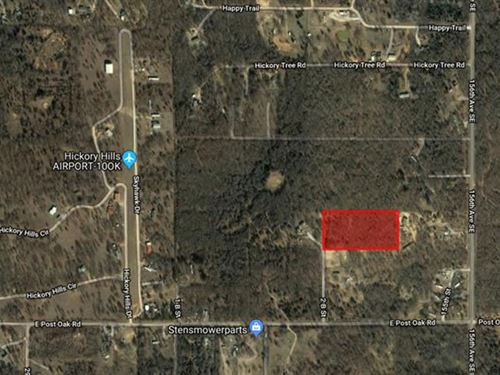 5 Acre Unrestricted Lot : Noble : Cleveland County : Oklahoma