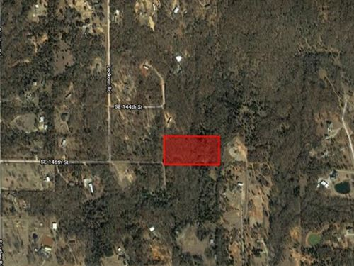 5.01 Acre Unrestricted Lot : Newalla : Cleveland County : Oklahoma