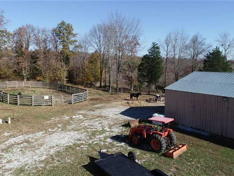 Turn Key Horse Farm in Dickson Cou : Charlotte : Dickson County : Tennessee
