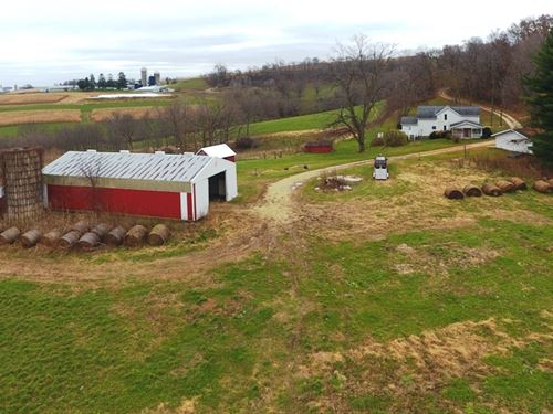 Shanghai Ridge Farmstead : Wauzeka : Crawford County : Wisconsin