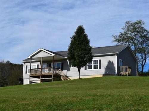 Floyd VA Country Home With Acreage : Check : Floyd County : Virginia