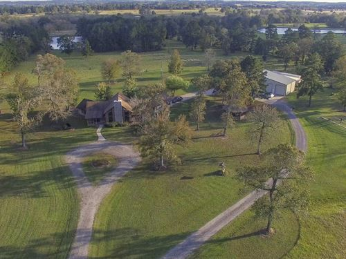 87 Acres Hardy Bottom Ranch : Huntsville : Walker County : Texas