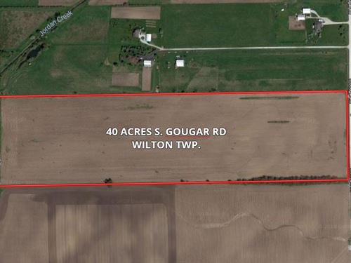 40 Acres S, Gougar Road Wilton Town : Manhattan : Will County : Illinois