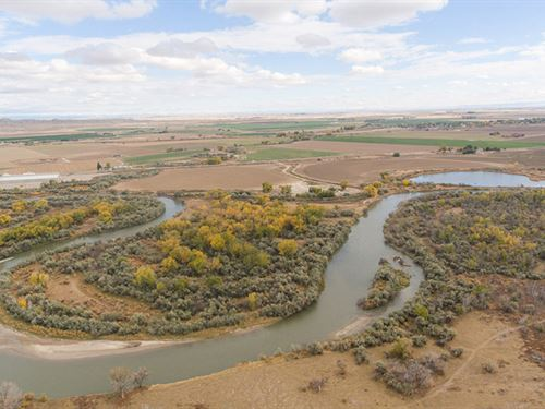Big Horn River Estate : Worland : Washakie County : Wyoming