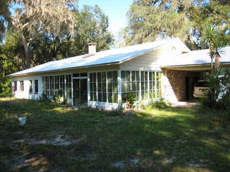 Home On 24 Acres In Melrose (h-87) : Melrose : Alachua County : Florida