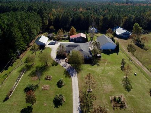 48.75 Ac Home And Horse Farm For : Washington : Beaufort County : North Carolina