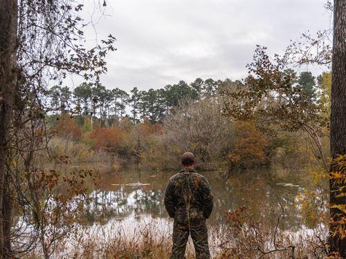 Land Lake Sam Rayburn, Turn-Key : Broaddus : San Augustine County : Texas