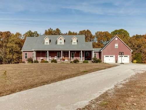 Country Home Acreage Lewis County : Hohenwald : Maury County : Tennessee