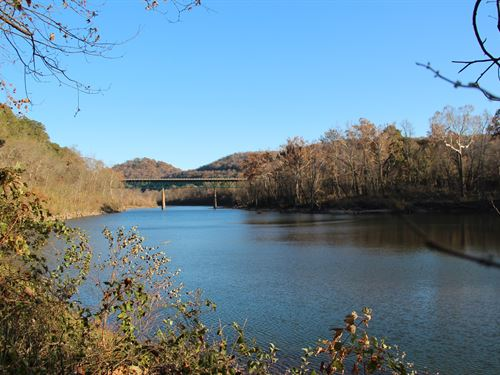 White River Front Property Arkansas : Eureka Springs : Carroll County : Arkansas