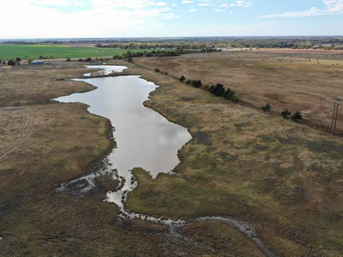 55 Acres & Pond : Enid : Garfield County : Oklahoma