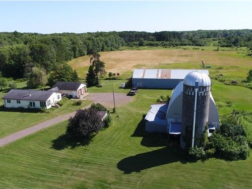 Hobby Farm, Country Home, Acreage : Bruno : Pine County : Minnesota