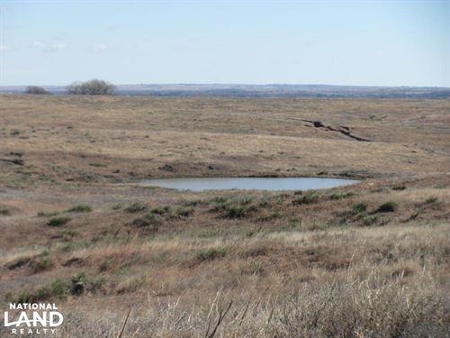 Creek, Crop, Pasture & Ponds : Logan : Phillips County : Kansas