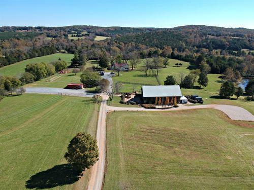 Beautiful Farm And Wedding Venue : Evington : Campbell County : Virginia