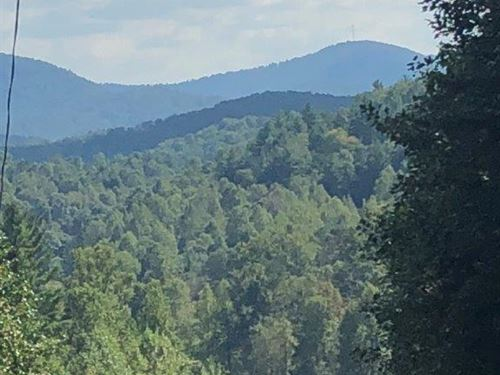 Bryant Creek Overlook : Ellijay : Gilmer County : Georgia