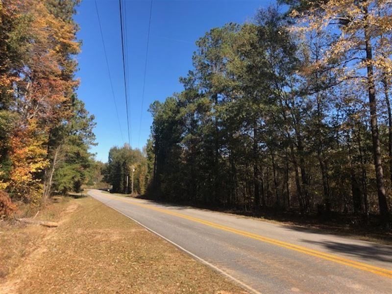 5 Ac Country Home Sites : Thomaston : Upson County : Georgia