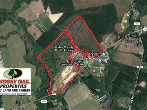 139 Acre Commercial Commerce Park : Gatesville : Gates County : North Carolina