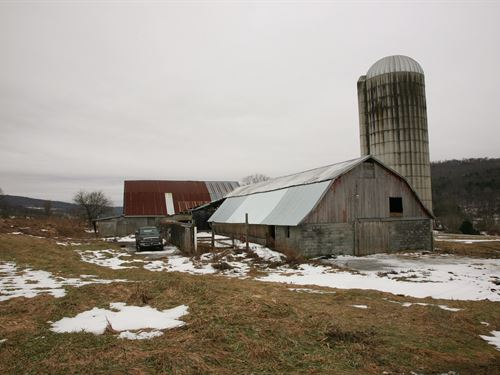 Land, 104 Acres, Newark Valley : Newark Valley : Tioga County : New York