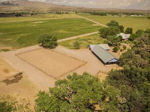 100 Acre Luxury Horse Farm : Lemitar : Socorro County : New Mexico