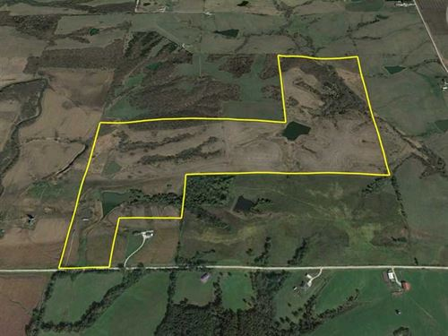 169 Acres M/L in Warren County, IA : Lacona : Warren County : Iowa
