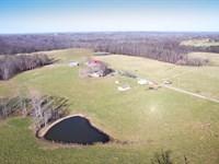 Premium 198 Ac, Working Cattle Farm : Crossville : Cumberland County : Tennessee