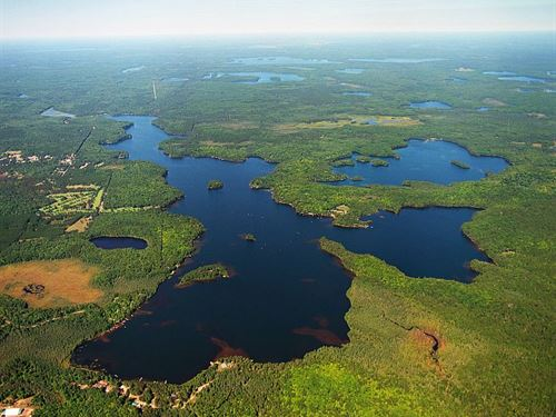 600+ Frontage On Plum Lake Parcel : Plum Lake : Vilas County : Wisconsin