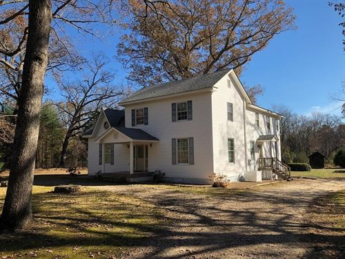 93 Acres Pristine Land Southern VA : Randolph : Charlotte County : Virginia