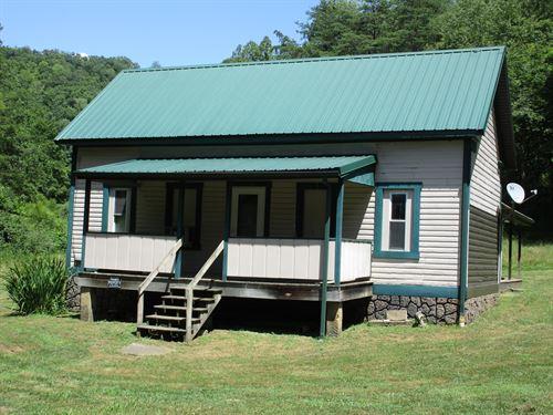 Hunting Cabin Retreat Tyler County : Jacksonburg : Tyler County : West Virginia