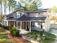 Home And Land On Pine Oak : Jesup : Wayne County : Georgia