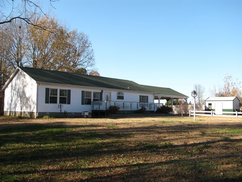 3Br Country Home Acreage TN Shops : Stantonville : McNairy County : Tennessee