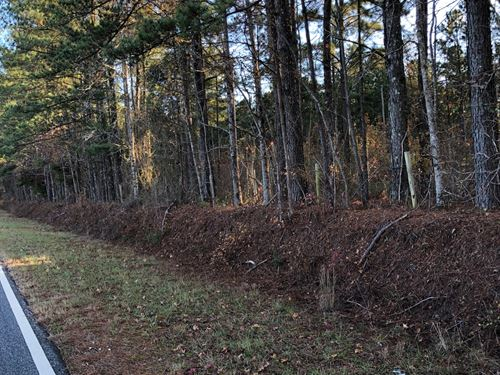 Goolsby Rd : Monticello : Jasper County : Georgia