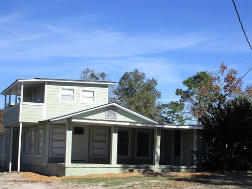 Farm House Acreage Chiefland : Chiefland : Levy County : Florida